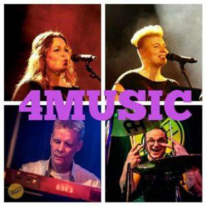 Geluid voor 4Music in Cafe de Nachtwacht Hoogeveen @ Cafe de Nachtwacht | Hoogeveen | Drenthe | Nederland